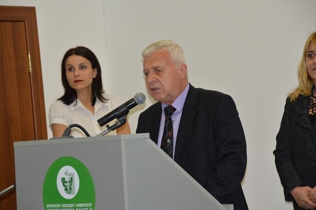 ВСУ чества 70-годишния юбилей на проф Терзиев