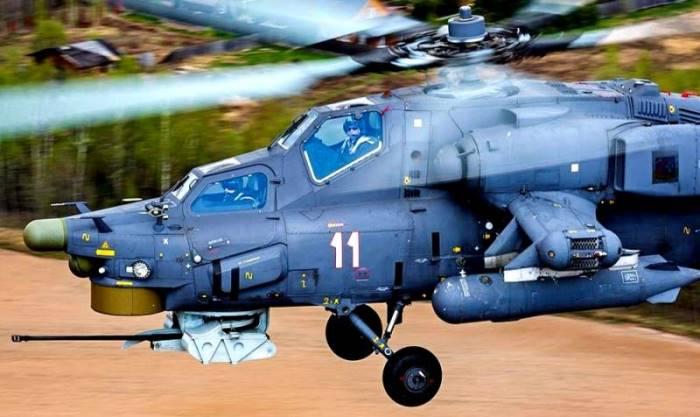 Вертолетен пилот засне унищожение на танк в Сирия