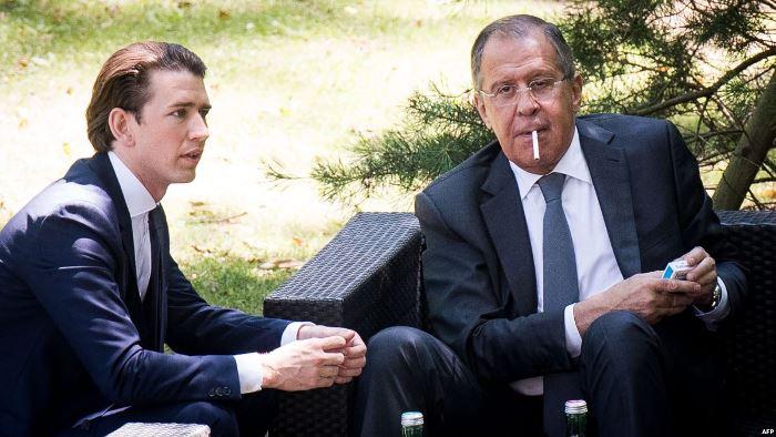 Австрийският канцлер Себастиан Курц се разболя за Борисов, но оздравя за Москва и Путин