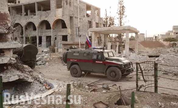 РУСКАТА армия превзе последната терористична крепост в Гута