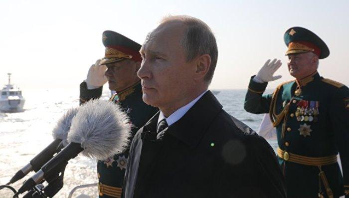 ПУТИН: Военният флот на Русия получава 26 кораба през 2018
