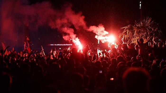 АНГЛИЙСКО-ШОТЛАНДСКА война на феновете отново в Лондон