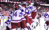 Младите руски хокеисти разплакаха Канада