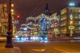 САНКТ-ПЕТЕРБУРГ блести за Нова година
