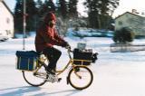 В ЯКУТСК на минус 40 градуса карат велосипеди
